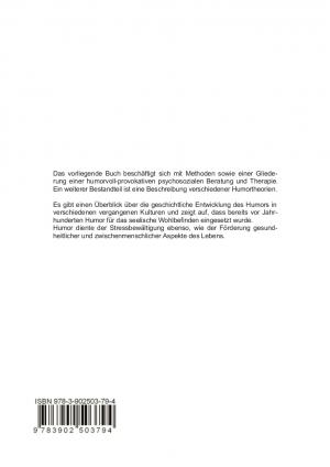 Handbuch HumorTHERAPIE